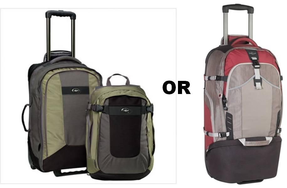 Choosing the Best Luggage for a RTW Trip