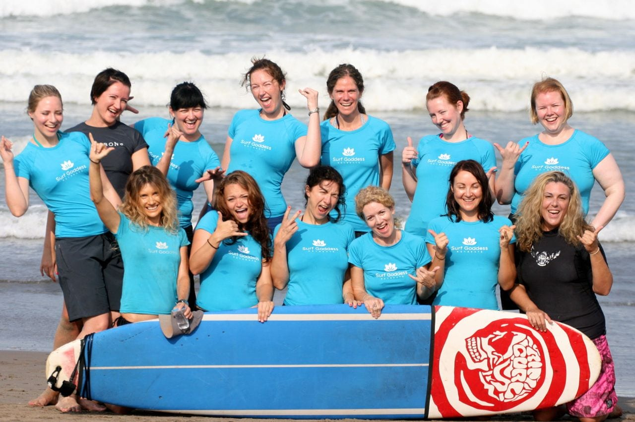 Surf Goddess Retreat - the most fun you can have in Bali!