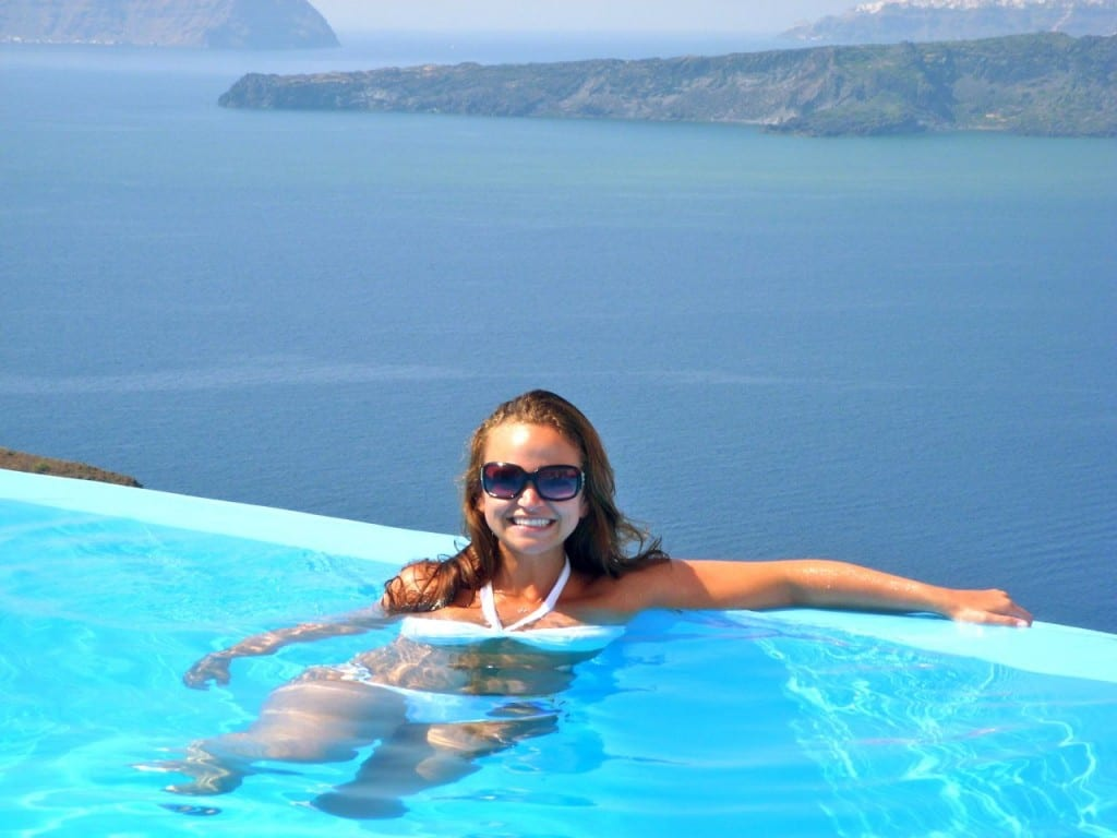 Best Island Beaches For Partying Mykonos St Barts: Santorini, Greece