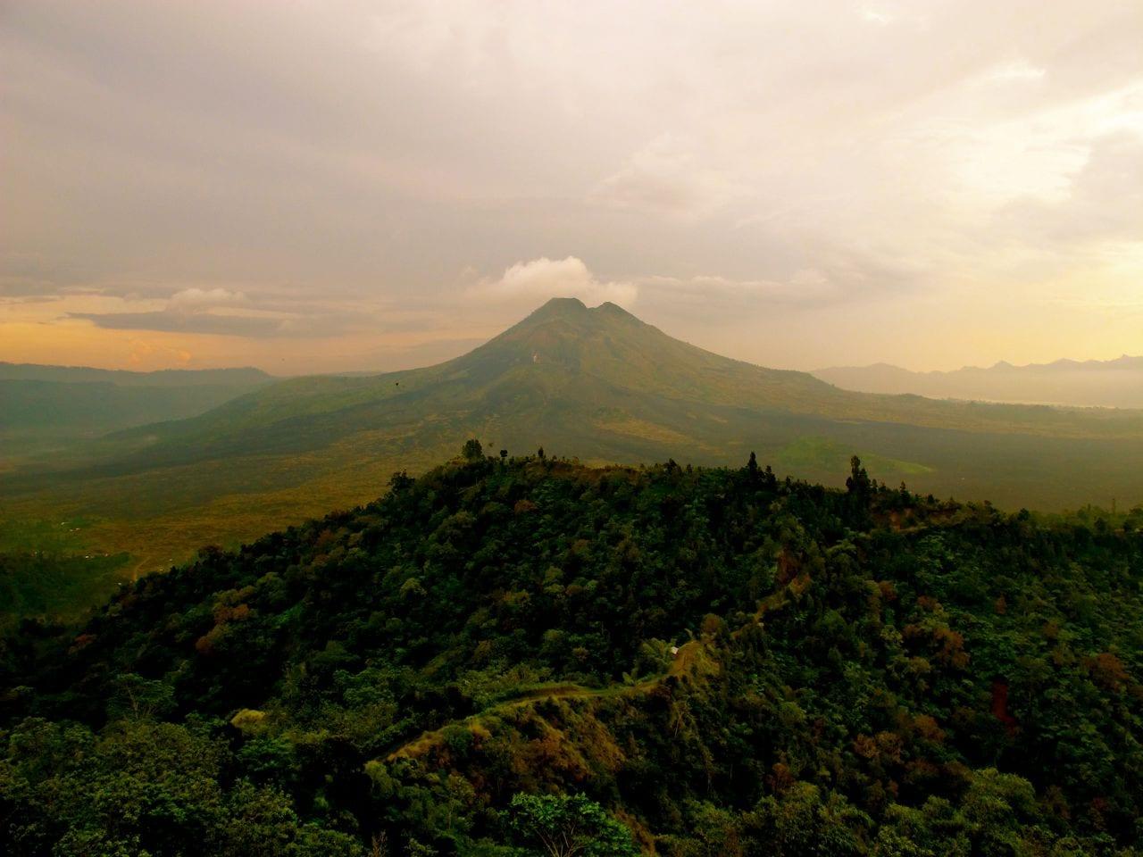 Volcano Bali Batur Batur Volcano Bali