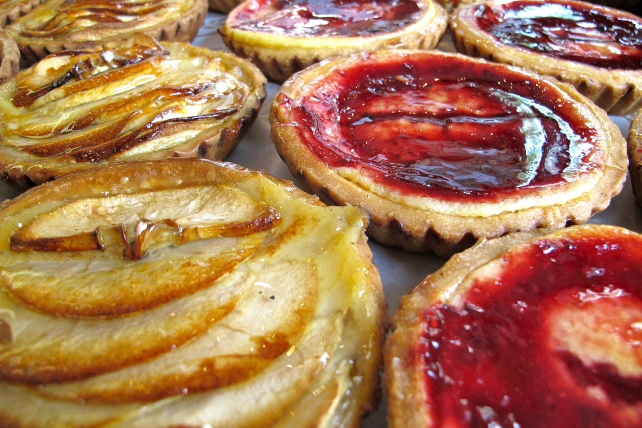 Spanish tarts in San Sebastian