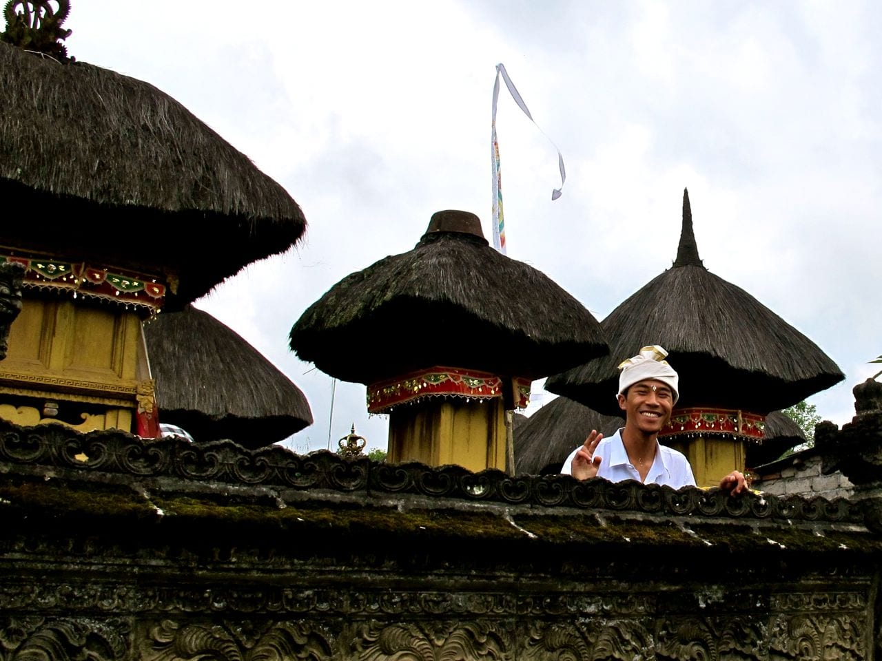 Smiling Man Bali Village