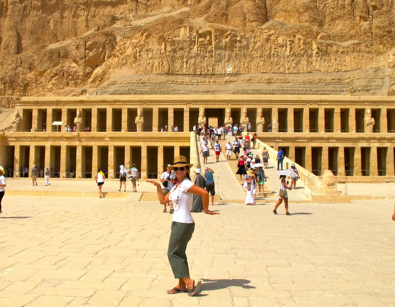 Angie Orth Walk Like an Egyptian Hatshepsut Luxor Egypt