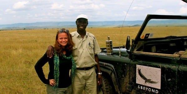 On safari at the Kenya/Tanzania border