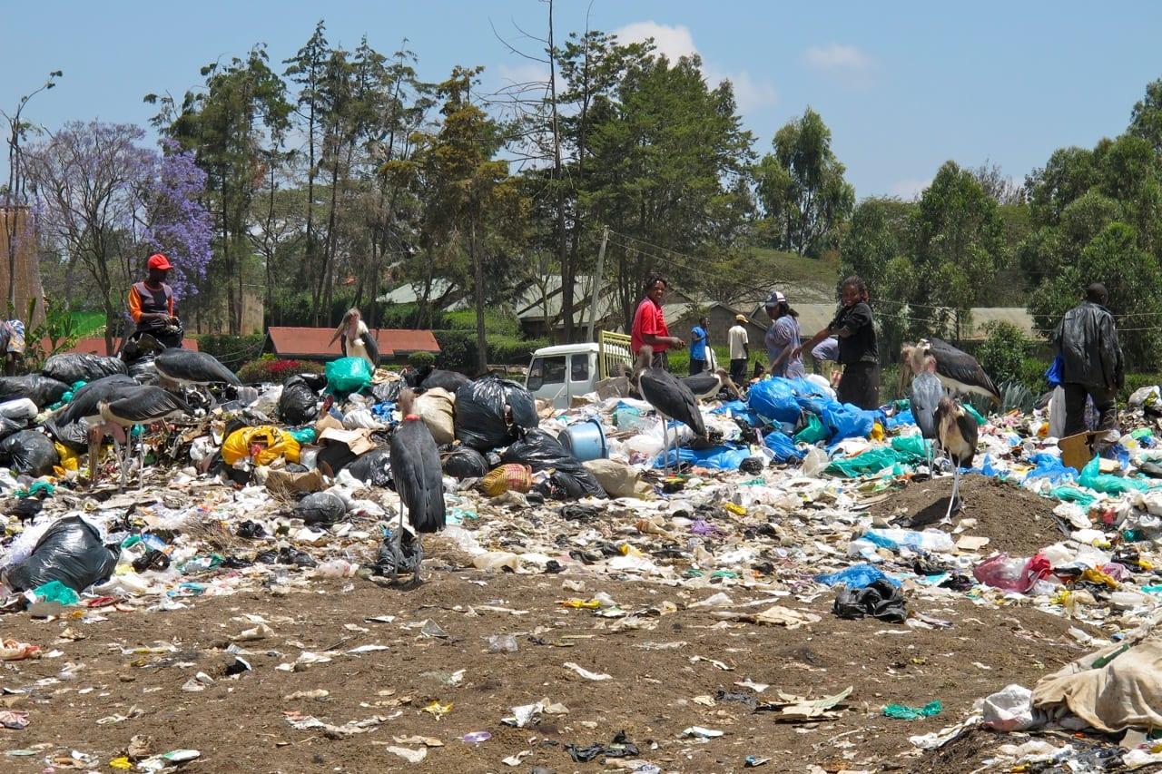 Kenya slum