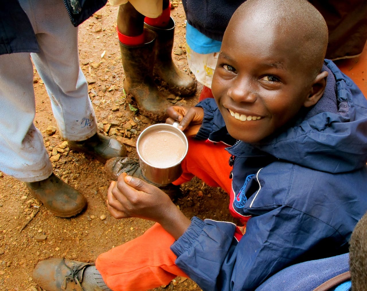 Volunteering abroad meet the kids from ngong hills kenya for Angie s african cuisine