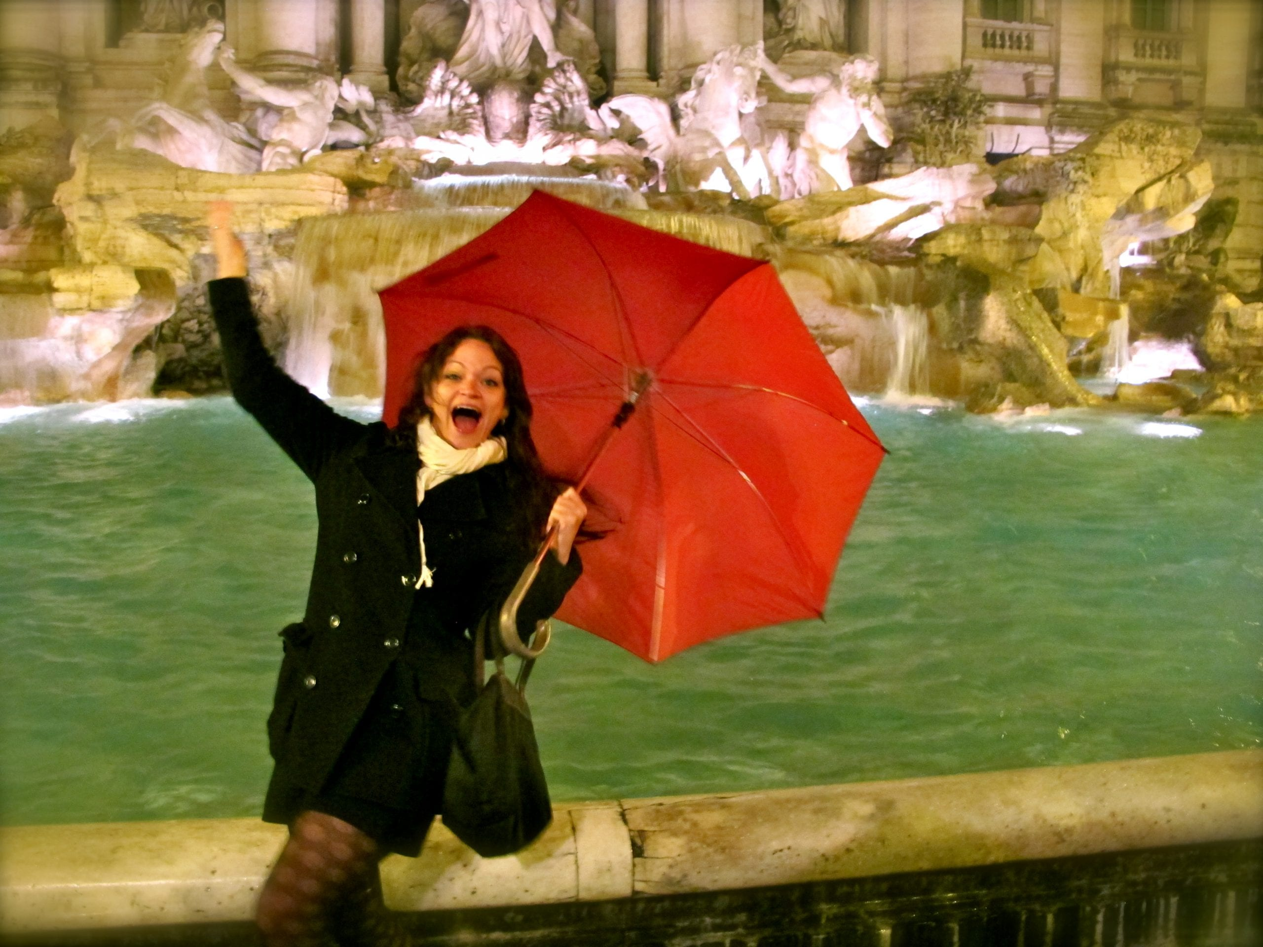 Angie Orth Trevi Fountain
