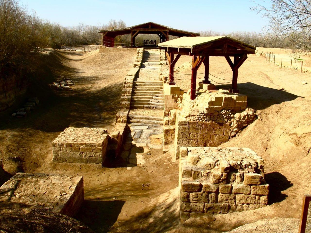 bethany beyond the jordan the baptism site of jesus