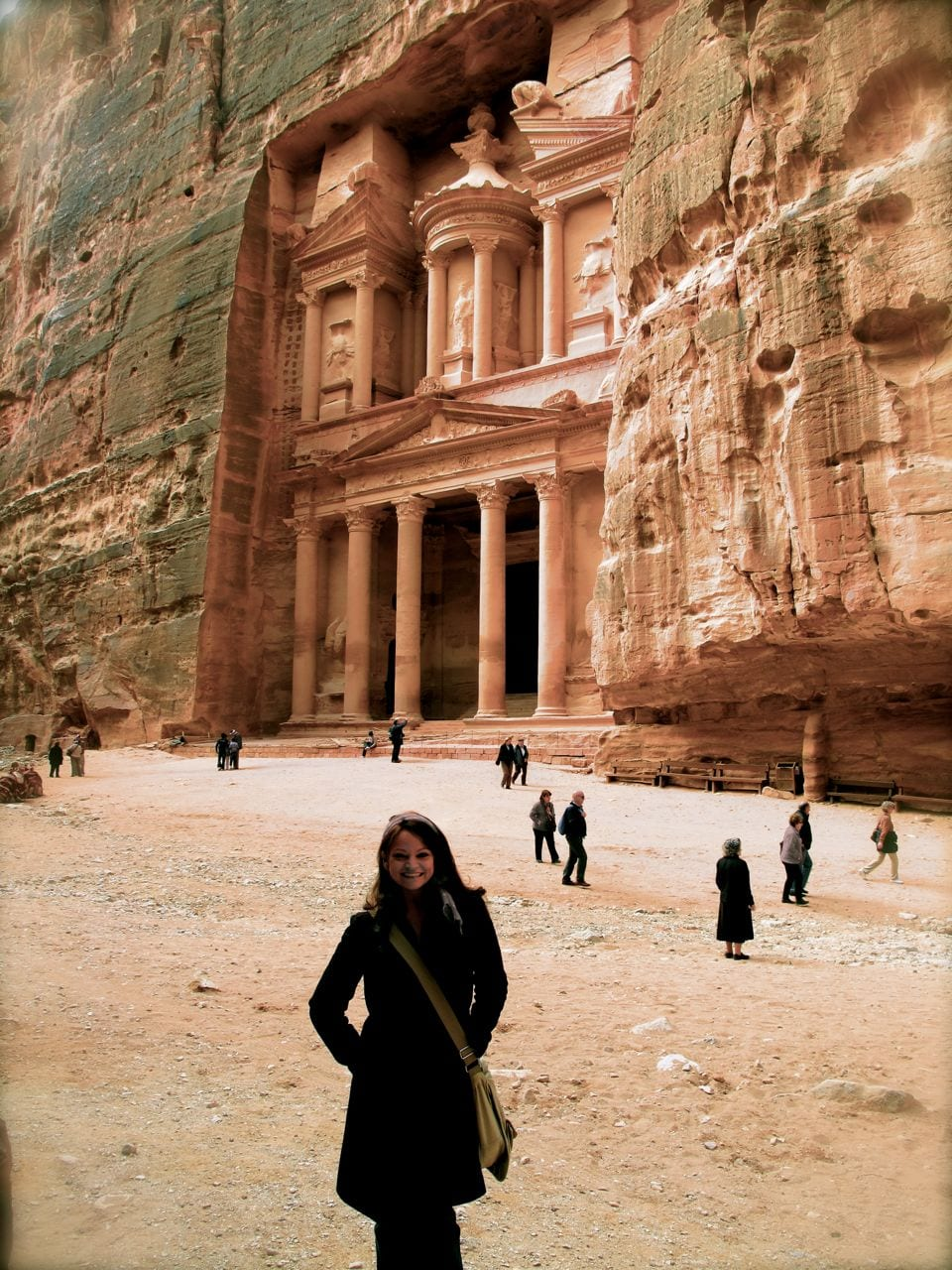The Rose Red City Of Petra Jordan