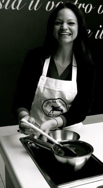 Angie Orth at Perugina Casa di Ciocolata