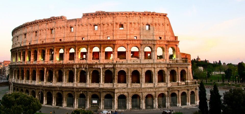 All roads lead to .... the Colosseum?