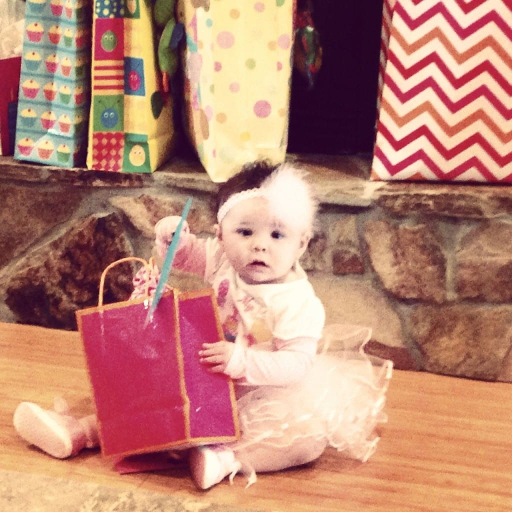 Naomi's 1st birthday - isn't she a cutie?