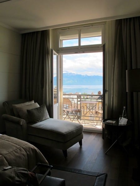 My view from the Lausanne Palace & Spa