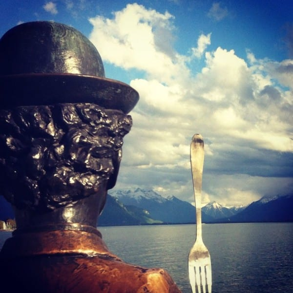 Vevey fact: it was once home to Charlie Chaplin and is currently the site of the Alimentarium - the original site of Nestle's administrative offices and now a food museum