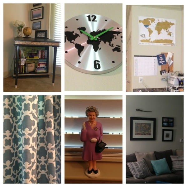 Bits & bobs in my world traveler-inspired apartment