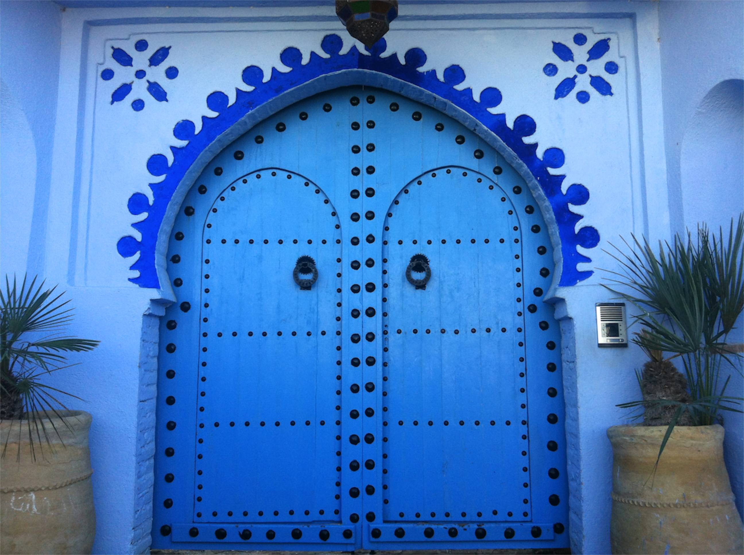 Feeling Blue In Chefchaouen Morocco Angie Away