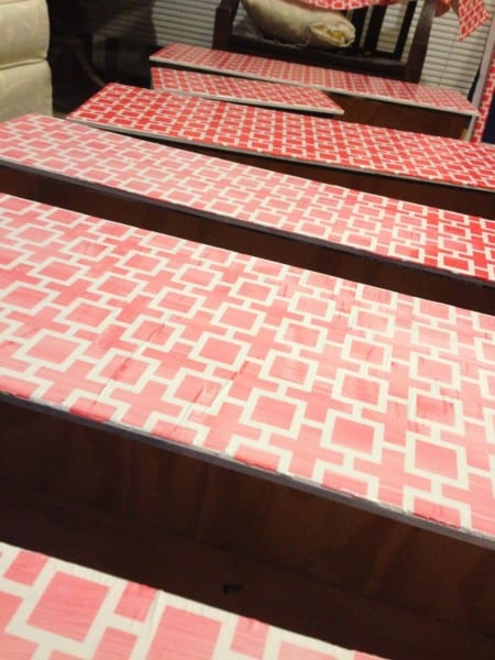 Mod Podge Dresser DIY