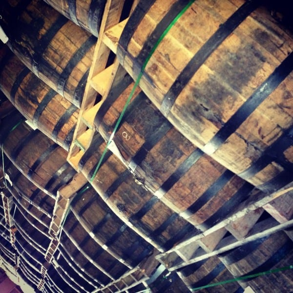 At the Barcelo Rum Distillery