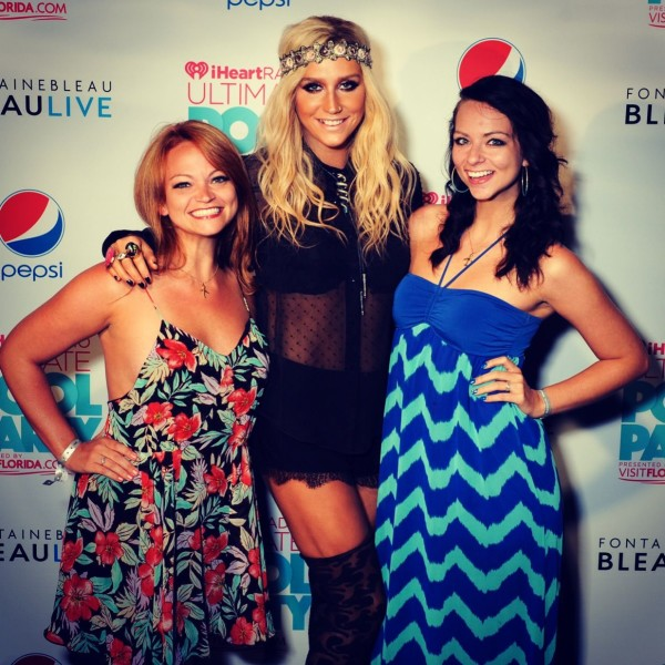 Meet & greet with Ke$ha before the show.