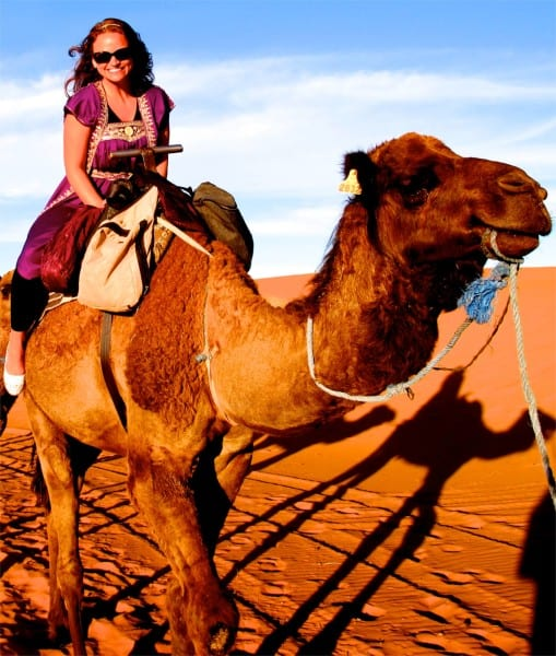 I was humming Arabian Nights from Aladdin when this photo was taken. My camel thoroughly enjoyed it.