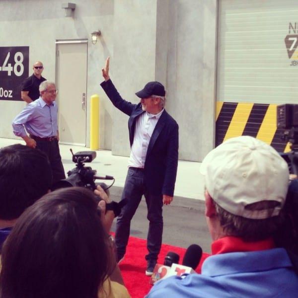 My new BFF, Steven Spielberg