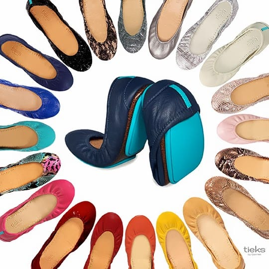 Tieks by Gavrieli, the best ballet flats for travelers