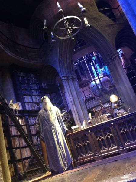 Dumbledore's Office & his costume & wig