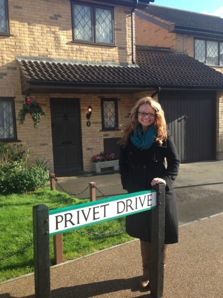 Eeeeee! Harry's Muggle home on Privet Drive. I can't even!