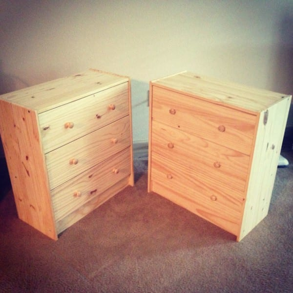 I love the IKEA RAST – I already have two that I hand-painted as bedside tables in my room. They're relatively easy to paint (though there are a lot more sneaky surfaces than you'd think!) and with flat-faced drawer fronts, they're easy to Mod Podge.