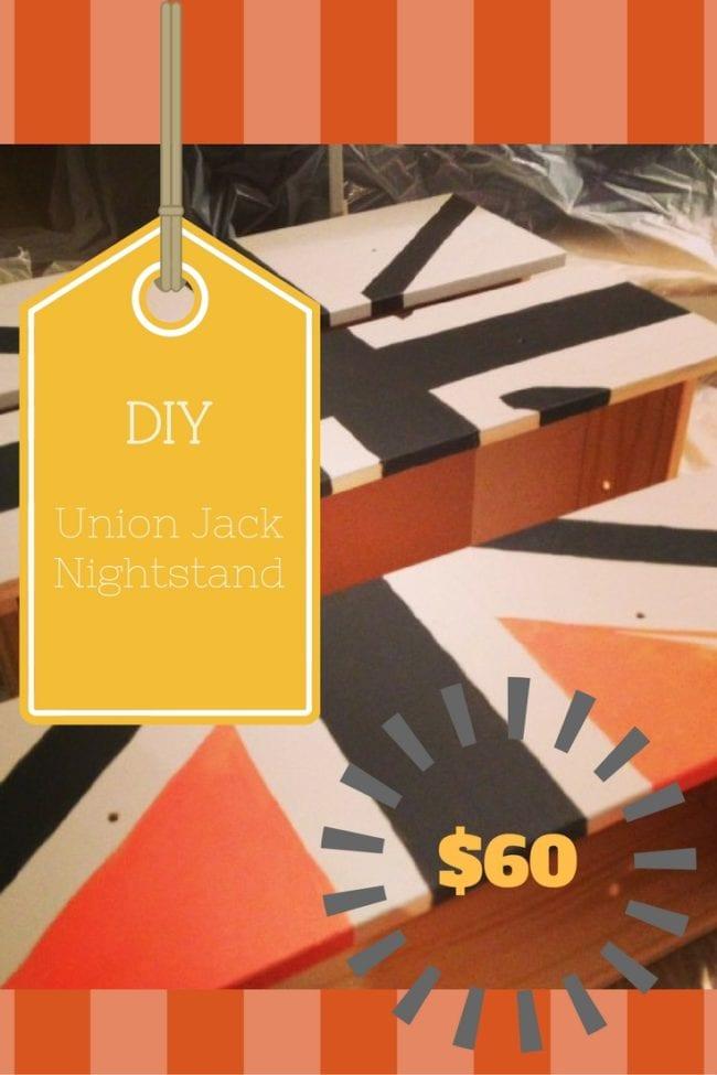 DIY IKEA NIGHTSTAND HACK - Union Jack Furniture