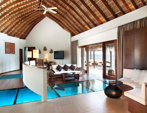 The Exotic W Retreat and Spa in the Maldives