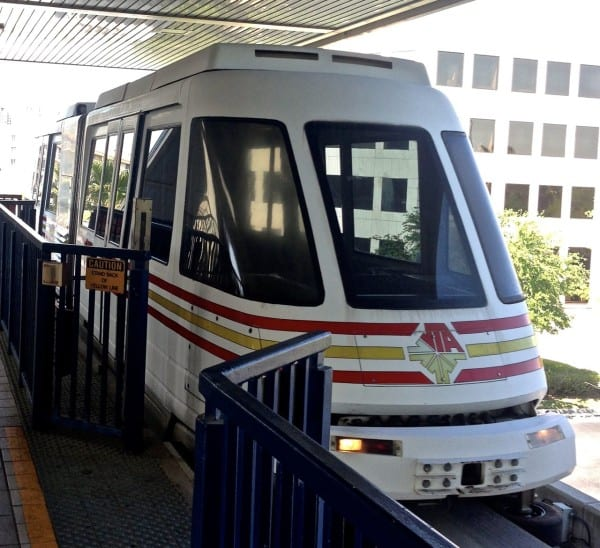 Who knew Jacksonville had this sort of public transport? I lived here 18 years and never used it before One Spark!