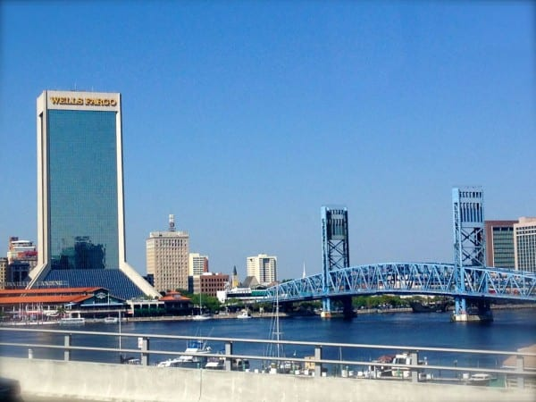 On the way to Downtown from San Marco on the SkyWay