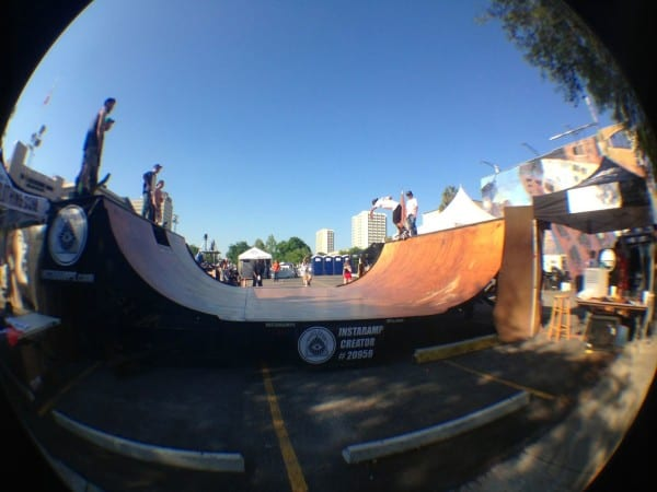 Another cool One Spark project, the Portable Halfpipe