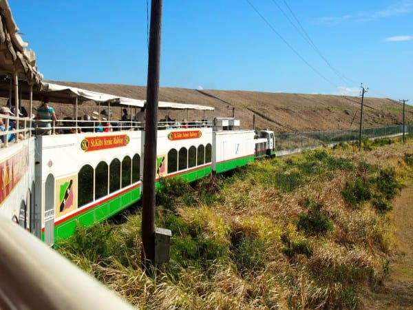 You see so much more of the island from the St. Kitts Scenic Railway