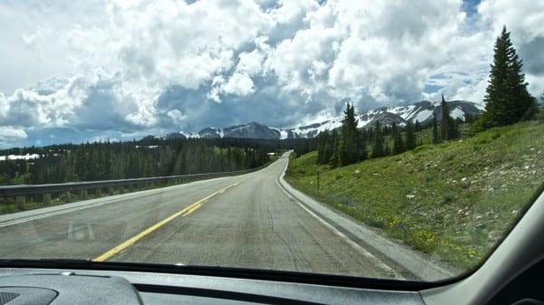Unminivan Ford Transit Connect Road Trip Wyoming