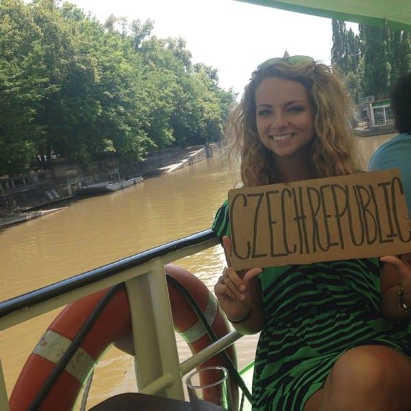 On the Vltava River