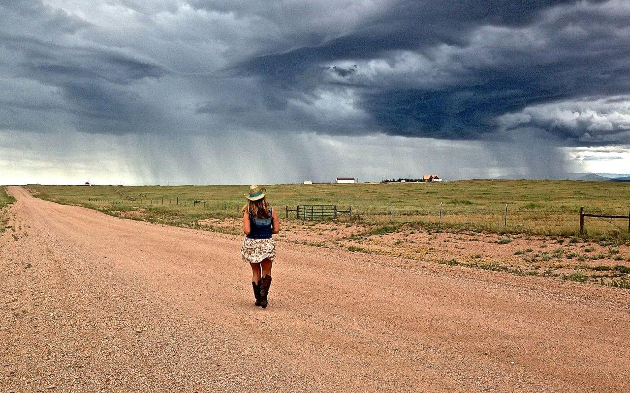 Wandering in Wyoming.