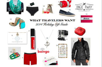 2014 Travel Holiday Gift Guide