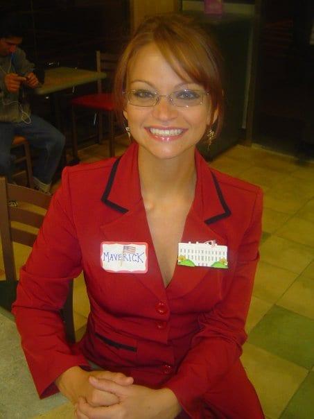 Angie as Sarah. 2008.