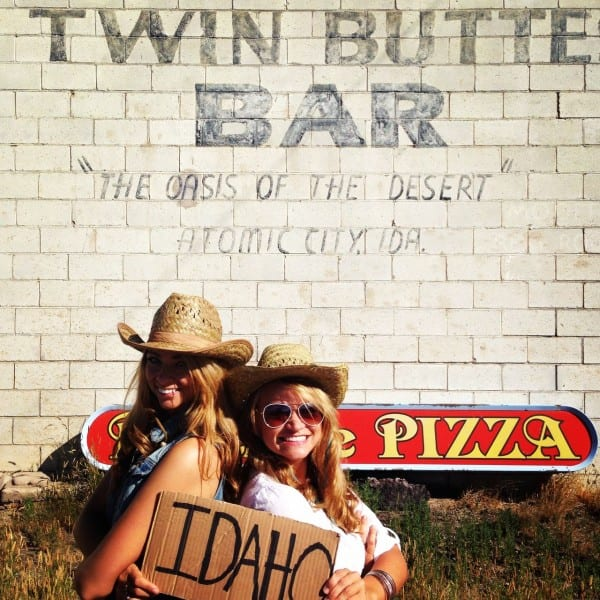 Twin Buttes... get it?