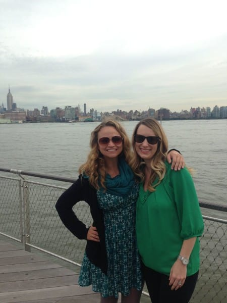 Catching up with sorority sis, former roomie & lifelong friend Erin in Hoboken was a big highlight!