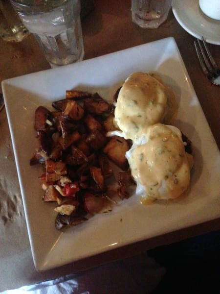 Brunch at the Delta Grille - yummy Louisiana cuisine in Hell's Kitchen