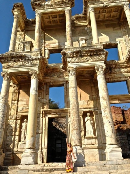 It wasn't just a visit to Greece... I spent a few hours in Ephesus, Turkey, too!
