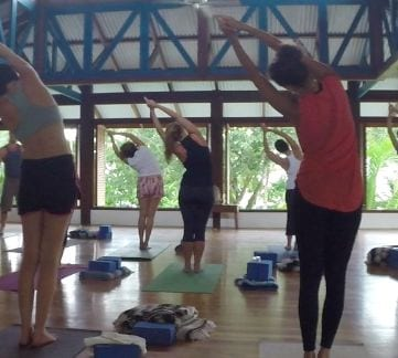 I attended a yoga retreat at Blue Osa in Costa Rica - what a relaxing week!
