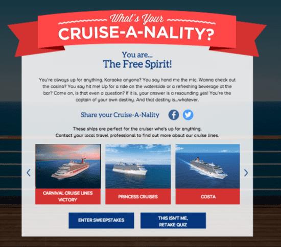 Carnival Cruiseanality