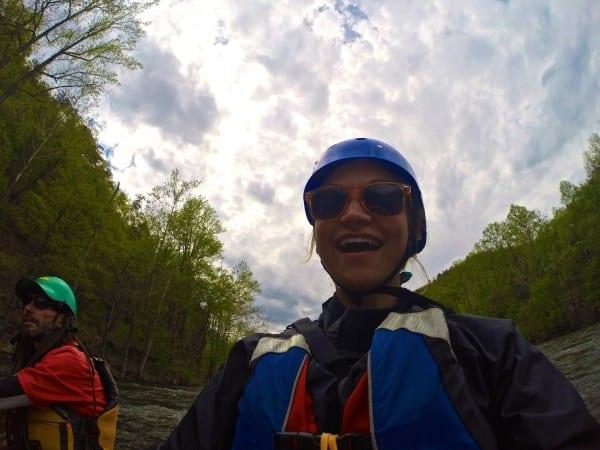 White water selfie!