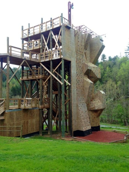 How insane is this rock wall?
