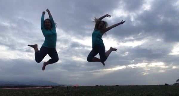 Yoga jumping Puerto Rico El Conquistador The Jet Sisters