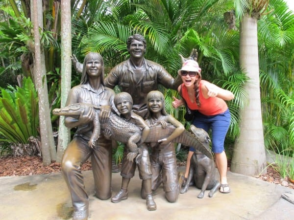 Getting to know the Irwin family at the Australia Zoo